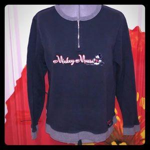 Vintage Mickey Mouse zip sweatshirt